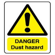 Warn139 - Danger Dust Hazard